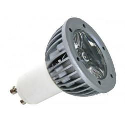 3w led lampe blau 230v gu10