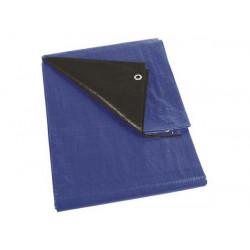 Telone blu negro super resistente 3x4m resiste strappo protezione piscina perel 261 34