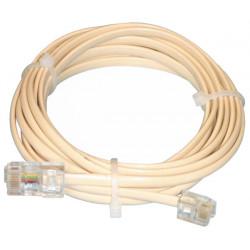 Rj11 6p4c telephone cable 3m 8p4c rj45 to 3.0 hqbf t017 phone plug cable