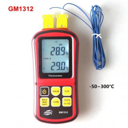 digital K tpye Application J R T E N Type thermocouple thermometer temperature sensor GM1312