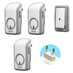 Universal 350M Long Wireless Doorbell Remote CALL Waterproof Smart Door Bell No batteries Music Doorbell EU Plug 110v 220v