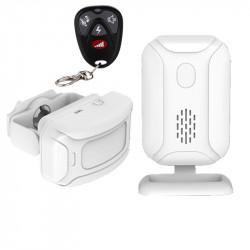 Alarma de bienvenida Sensor de movimiento IR detección de timbre infrarrojo Timbre de distancia Radio 280m