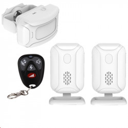 Welcome alarm IR motion sensor infrared doorbell detection Distance chime Radio 280m