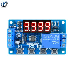 Multifunktions- self- lock relay cycle timer -modul plc home automation delay- 12v