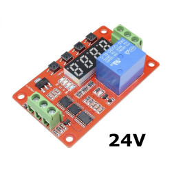 Multifunktions- self- lock relay cycle timer -modul plc home automation delay- 24v