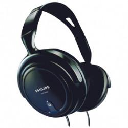 Casque stereo philips reglable fiche 3.5mm 6.35mm shp2000 ecoute qualite pc tv musique cable 2m