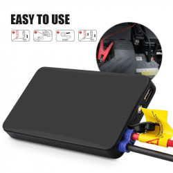 Auto Starthilfe 400A 12V Externe Autobatterie Multifunktions Fahrzeug Notbatterie Booster Energienbank