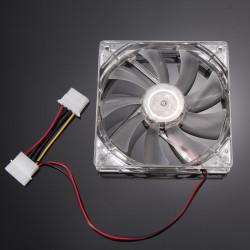 Ventilateur 12v 120mm 120x120x25mm cmp-fan25 avec connecteur 3 pins ordinateur pc könig