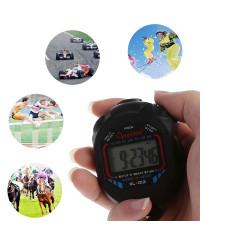 Sport Stoppuhr Professionelle wasserdichte LCD Digital Stoppuhr Timer Chronograph Zähler Sport Alarm