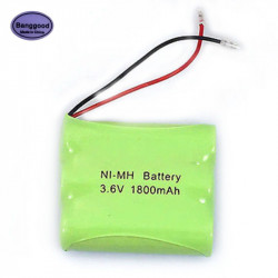 Ni-MH AA 3.6V 1800mAh Ni-MH Rechargeable Battery Pack With Plugs For Cordless Phone Batteries