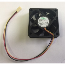 Ventilateur 12v 60mm 60x60x15mm cmp-fan22 connecteur 3 pins 12 volt ordinateur pc könig