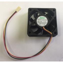 Ventilator 12v 60mm 60x60x15mm cmp fan22 conector 3 pins 12 volt könig pc computer