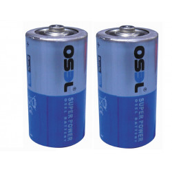 2 pilas electrcas 1.5vcc alcalina lr14 c (les 2 r14 1.5v) C, AM2, LR14, 14A, E93, MN1400, 814, 4014 pilas alcalinas alimentacion