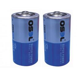 Lotto di 2 pile alcaline i.5v lr14 alimentazione C, AM2, LR14, 14A, E93, MN1400, 814, 4014 pila batterie alimentazione pile bat