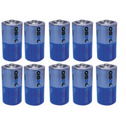 10 battery 1.5v  lr14 c (r14 1.5v) battery alkalines power supply C, AM2, LR14, 14A, E93, MN1400, 814, 4014