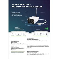 Telecamera video wifi compatibile 12v generatore di fumo diffusore nebbia 120m3 nebbia fu12vp