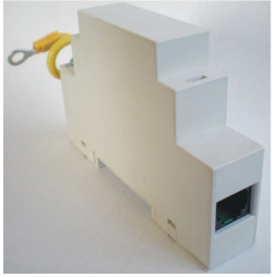 Parafoudre telephonique 1 ligne tel/fax/modem/adsl 3ka 110v rail telephone parasurtenseur surtension
