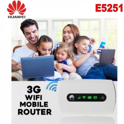 Unlocked Huawei E5251 42.2Mbps 3G HSPA+ UMTS 900/2100MHz USB Wireless Router Pocket WiFi Mobile Broadband PK E5220 E5331 E5332