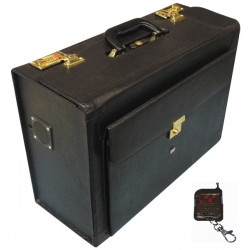 80 000v electrified briefcase, leather attache case electrified briefcase leather attache remote control alarm siren fund tranpo
