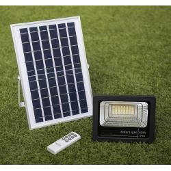 Lampada solare 40w + pannello solare + batteria Illuminazione proiettore 48 LED 1250 LM IP66 spot
