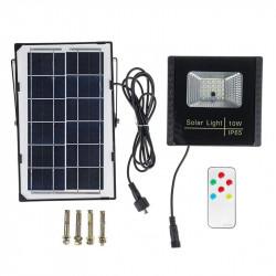 10W impermeabile IP65 luce solare SMD2835 pannello solare LED proiettore luce di inondazione lampada