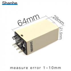 Omron relais 12v 5a h3y-2 timer 1 min bis 60 min 230v 240v 2 no / nc in arbeits-oder ruhezeiten