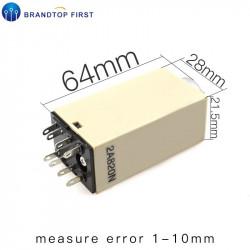 Omron relais 24v 5a h3y-2 timer 1 min bis 60 min 230v 240v 2 no / nc in arbeits-oder ruhezeiten