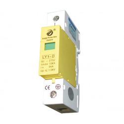 Oleada eléctrica 275v 220v din rail 1 polo sobretensiones tipo 3 10ka ly1 d10 1p