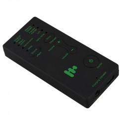 Changeur voix brouilleur truqueur modification Deguiseur voix telephone Microphone Changeur Adaptateur 8 voix pour PUBG MIC Game