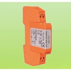 Eine telefonleitung überspannungsschutz tel / fax / modem / adsl 3ka überspannungsableiter 110v schiene phone