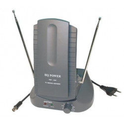 Antenne uhf vhf fm tnt amplificateur usage interieur television tv antm3