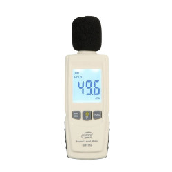 Schallpegelmesser Dezibelmeter Dezibelmeter messen Schallpegelmesser LCD-Bildschirm gm1352 benetech 30-130dB