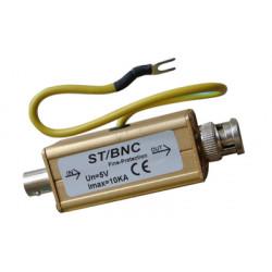 Oleada conector bnc 0 a 4ghz oleada 10ka relámpago tormenta protección de cámara de vídeo vigilancia
