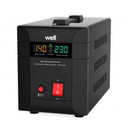 Stabilisateur de tension automatique Agile 1000VA 700W Well AVR-TRC-AGILE1000-WL stabilisateur secteur