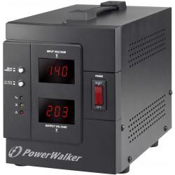 Régulateur de tension 1500VA AVR automatique uv33 stabilisateur secteur 220v Powerwalker AVR 1500 SIV FR