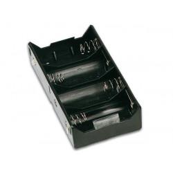 Batteriehalter für 4 x d batterien (mit lötfahnen) bh143d