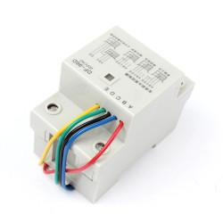 contrôleur de niveau d'eau automatique 220V Din Rail DF-96D pompe réservoir citerne