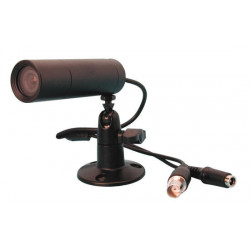 Video surveillance camera b / w 12v 1/3'' lens + ball (tube) security systems recondition