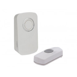Wireless led doorbell 150m ip44 32 melodies edm1
