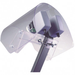 Protection pour lnb parapluie pour parabole television konig sat-paraprot