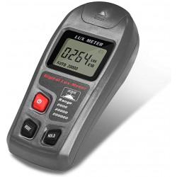 MT-30 Handheld Digitales Multifunktions-Luxmeter 0.1-200000lux Luxmeter mit hoher Genauigkeit Tragbares
