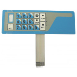 Membrane transmitter alarm dialer telephone number ttx