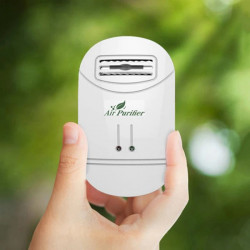 Ioniseur Purificateur air Pour La Maison Generateur ions Negatifs Filtre a Air Fumee Poussiere