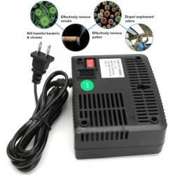 Purificateur air Ioniseur Generateur 220v Filtre a air Supprimer la poussière fumee bureau domicile