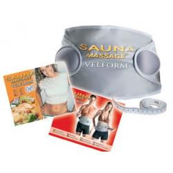 Cintura sauna dimagrante e un aumento della temperatura cellulite velform massanté sudorazione dimagrante