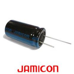 5 Radial chemical capacitor 47 uf mf 160v Jamicon 5.08 cdr1j160v47mf5