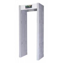 Noleggio del portale del metal detector Rilevazione elettronica di sicurezza di 14 giorni dell'allarme di passaggio dei metalli