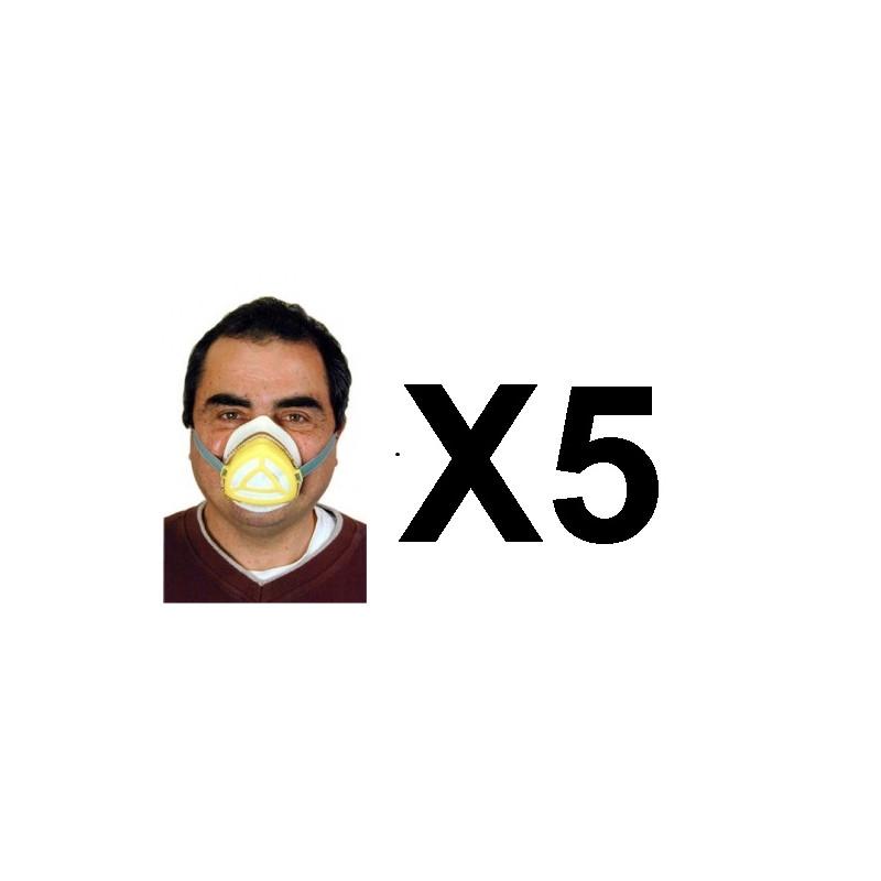 masque respiratoire virus