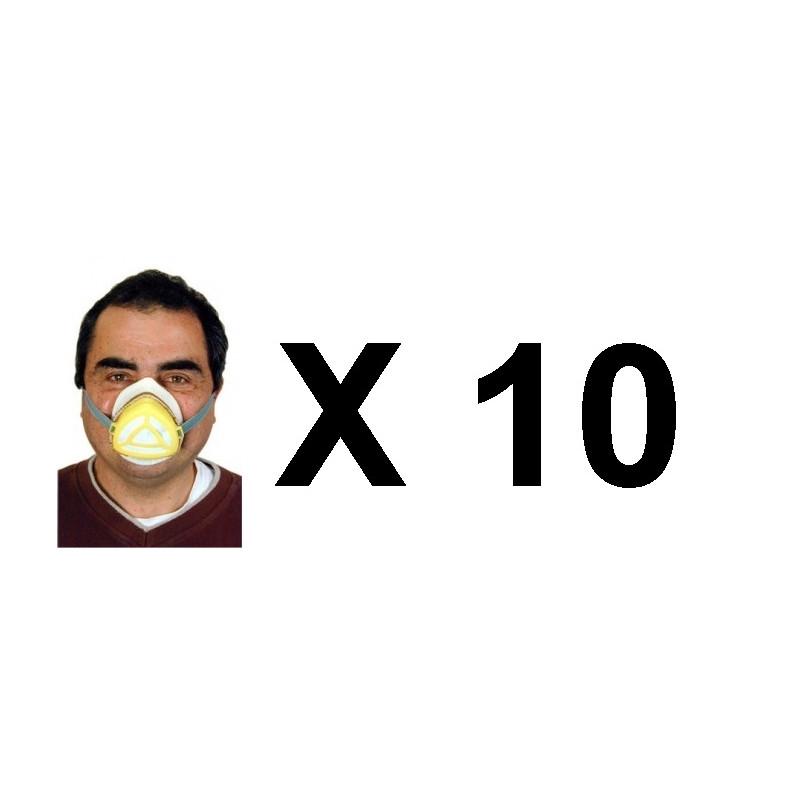 masque respiratoire anti contamination