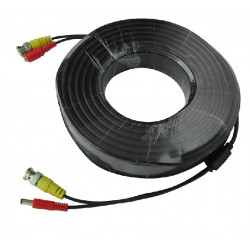 Konig 50 m security coax cable rg59 + dc power